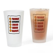 SOPHOMORE Drinking Glass