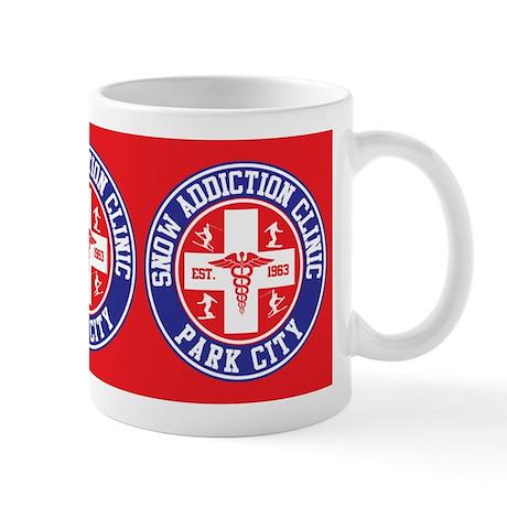 Park City Snow Addiction Clinic Mug