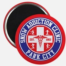 Park City Snow Addiction Clinic Magnet