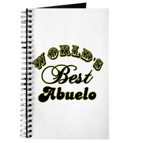 Best Abuelo Journal