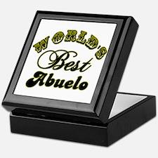 Best Abuelo Keepsake Box