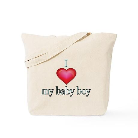 I love my Baby Boy Tote Bag by terriblycreativetees