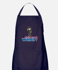 Army Girl Apron (dark)