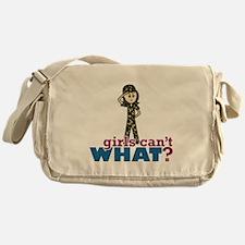 Army Girl Messenger Bag