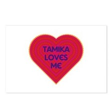 Tamika Loves Me Postcards (Package of 8)