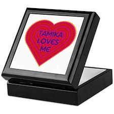 Tamika Loves Me Keepsake Box
