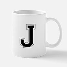 Collegiate Monogram J Mug