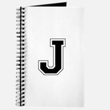 Collegiate Monogram J Journal