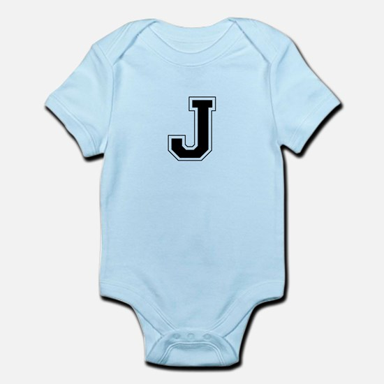 Collegiate Monogram J Body Suit