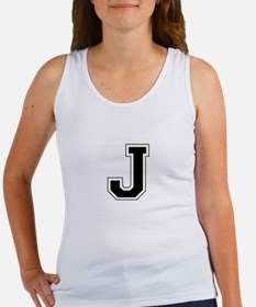 Collegiate Monogram J Tank Top