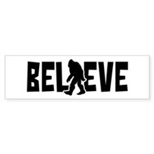 Believe in the Sasquatch Bumper Stickers