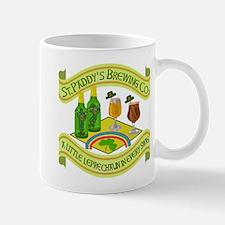 Funny Saint Patricks Day Leprechaun Brewery Mug