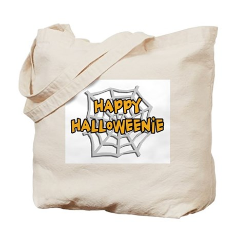 Happy Halloweenie Tote Bag