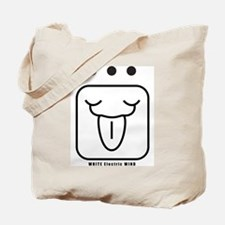 WHITE Electric WIND Tote Bag