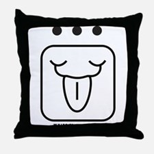 WHITE Electric WIND Throw Pillow