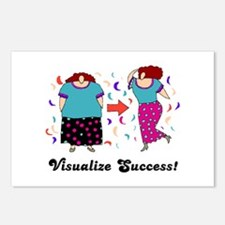 Visualize Success Diet Postcards (Package of 8)