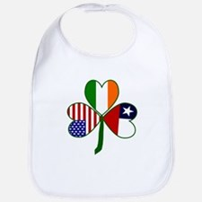 Shamrock of Chile Bib