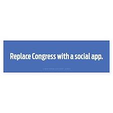 Congress App Bumper Bumper Sticker