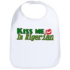 Kiss me Nigerian Bib