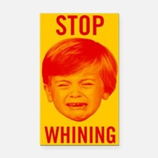 Stop Whining Rectangle Car Magnet
