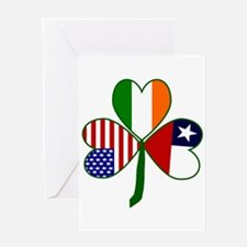 Shamrock of Chile Greeting Card