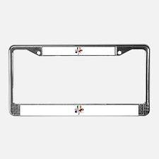 Shamrock of Chile License Plate Frame