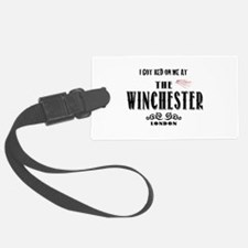 Winchester I Got Red On Me Luggage Tag