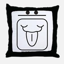 WHITE Resonant WIND Throw Pillow