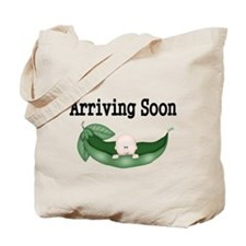 Arriving Soon-Bald Baby Tote Bag