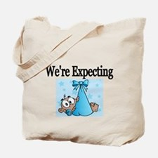 Were Expecting-boy Tote Bag