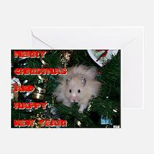 HamStar Christmas Greeting Cards (Pk of 10)