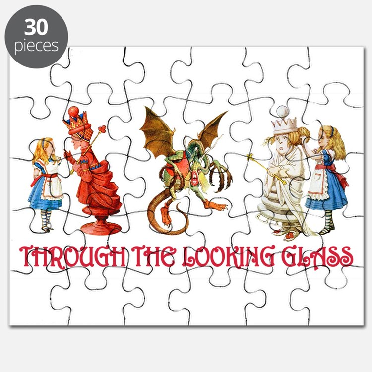 THROUGH THE LOOKING GLASS Puzzle
