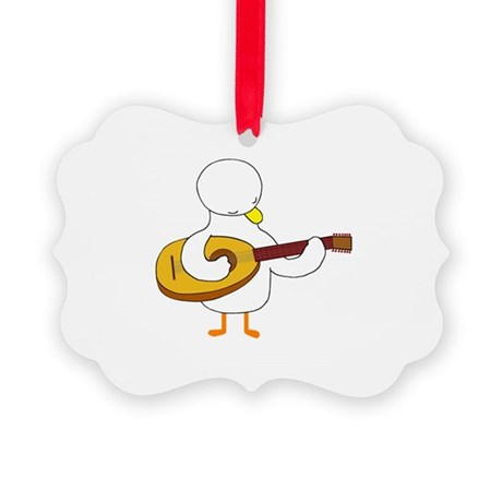 Lute Player Ornament
