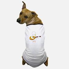 Lute Player Dog T-Shirt