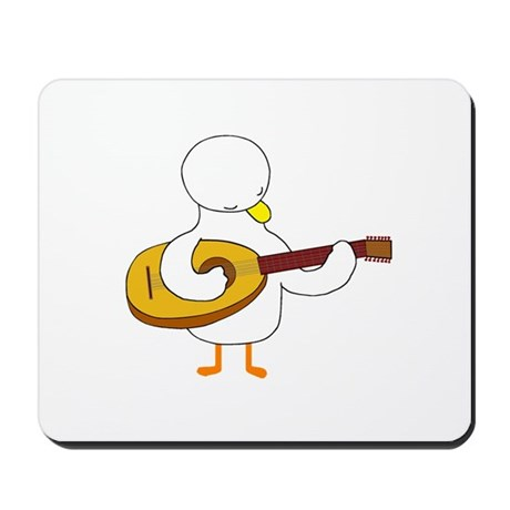 Lute Player Mousepad