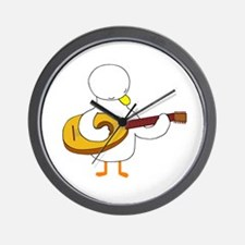 Lute Player Wall Clock