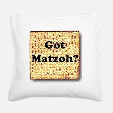 gotmatzoh.png Square Canvas Pillow