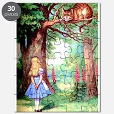 Alice and the Cheshire Cat Puzzle