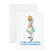 ALICE _not that innocent.png Greeting Card