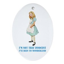 ALICE _not that innocent.png Ornament (Oval)