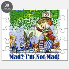 MAD? I'M NOT MAD! Puzzle