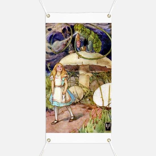 ALICE & THE CATERPILLAR Banner