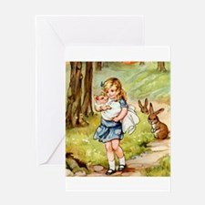 alice_PIG BABY_SQ.png Greeting Card