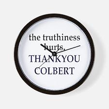 Thankyou Colbert Wall Clock