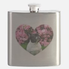 French Bulldog in h... Flask