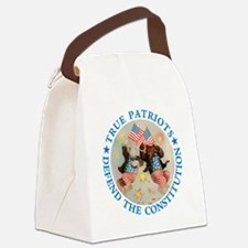 TruePatriotBears_blue copy.png Canvas Lunch Bag