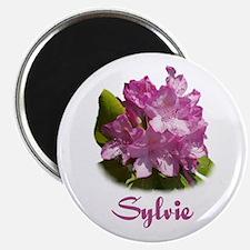 Sylvie: Purple Flower Magnet