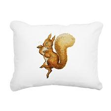 Squirrel Nutkin Rectangular Canvas Pillow