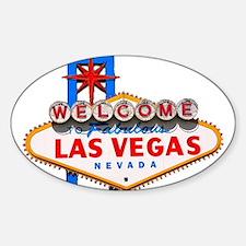 Las Vegas Bumper Decal