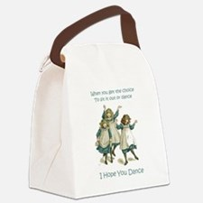 Baby April HOPE YOU DANCE.png Canvas Lunch Bag